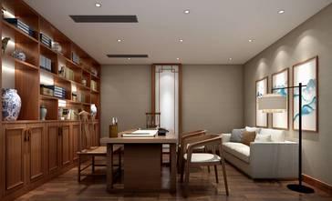 20万以上140平米别墅中式风格书房欣赏图