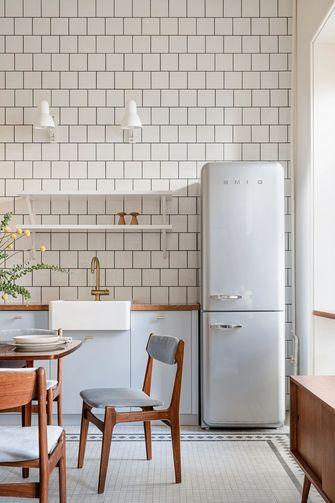 经济型50平米一室一厅混搭风格厨房图