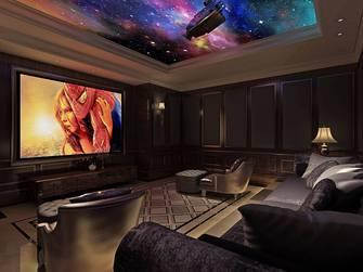 15-20万80平米混搭风格影音室欣赏图