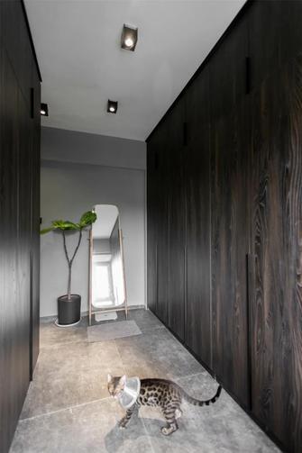 5-10万90平米三室两厅工业风风格衣帽间欣赏图