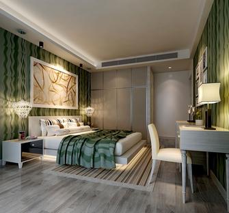 90平米欧式风格卧室图