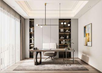 20万以上140平米复式轻奢风格书房图片