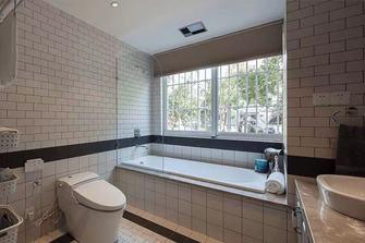 140平米三室一厅美式风格卫生间图片大全