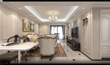 90平米三室两厅欧式风格客厅欣赏图