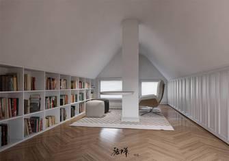 20万以上140平米复式欧式风格阁楼装修效果图