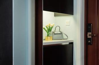 5-10万120平米三室两厅美式风格玄关图