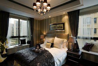 豪华型140平米三室两厅港式风格卧室装修图片大全