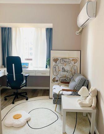 经济型80平米三室两厅北欧风格书房装修效果图