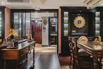 20万以上140平米复式美式风格餐厅装修图片大全
