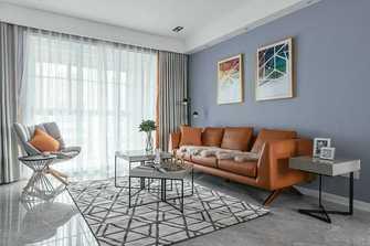 富裕型130平米三室两厅北欧风格客厅效果图