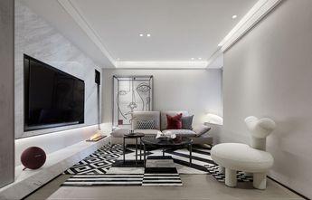 15-20万100平米三室两厅现代简约风格客厅设计图