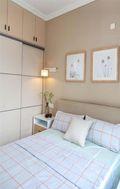 富裕型110平米现代简约风格卧室图片大全