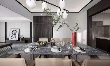 富裕型140平米三室两厅中式风格餐厅图