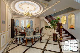 富裕型140平米复式欧式风格餐厅装修图片大全