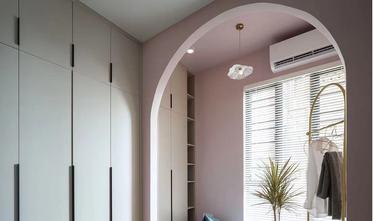 经济型80平米三室一厅新古典风格衣帽间图