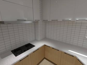 140平米三室两厅北欧风格厨房图