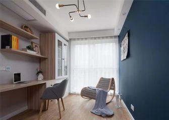 富裕型140平米四室两厅北欧风格书房装修图片大全