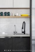 3万以下80平米三室两厅北欧风格厨房装修图片大全