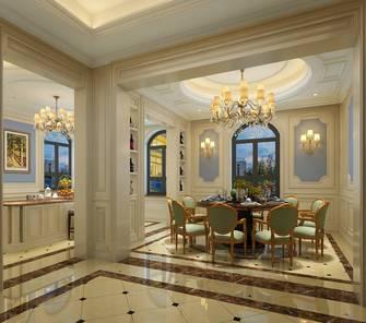 豪华型140平米别墅新古典风格餐厅图片大全