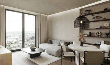 15-20万80平米三室两厅现代简约风格客厅图片大全