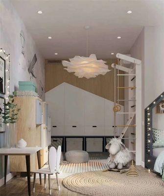 富裕型110平米三室两厅现代简约风格其他区域装修图片大全