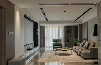 15-20万140平米四室四厅现代简约风格客厅设计图