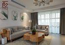 富裕型140平米四室两厅北欧风格客厅图片大全