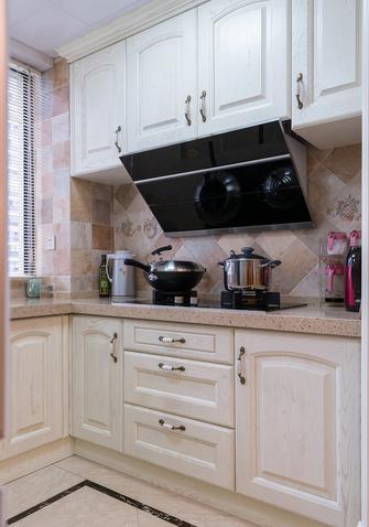 富裕型120平米三室两厅美式风格厨房图片