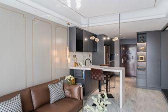 60平米一居室轻奢风格客厅装修案例