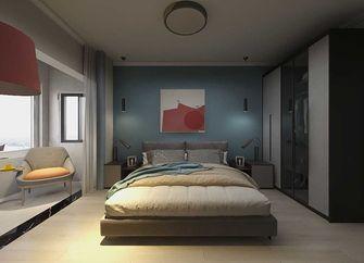 富裕型110平米三室两厅现代简约风格卧室设计图