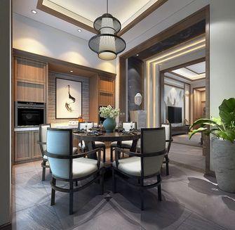 富裕型140平米复式中式风格餐厅图片