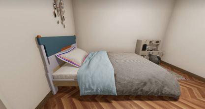 100平米日式风格卧室欣赏图