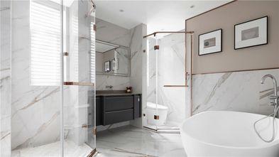 豪华型140平米三室两厅美式风格卫生间装修图片大全