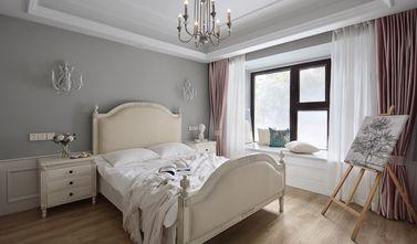 富裕型80平米三室一厅法式风格卧室设计图