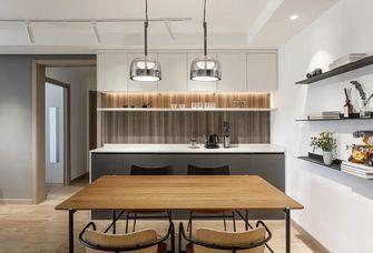 经济型90平米一室一厅混搭风格餐厅效果图
