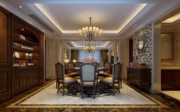 豪华型140平米三美式风格餐厅装修效果图