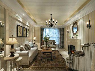 富裕型140平米四室两厅地中海风格客厅装修案例