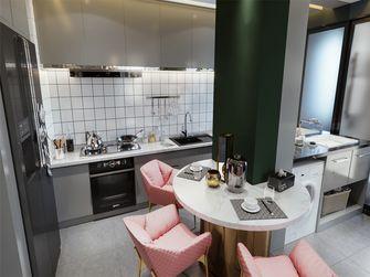 15-20万110平米三室两厅轻奢风格餐厅装修效果图