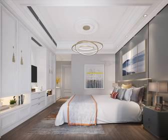 富裕型140平米四室两厅美式风格卧室装修图片大全