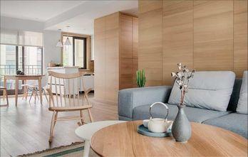 豪华型100平米三室两厅日式风格客厅图
