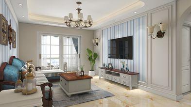 富裕型140平米三室两厅地中海风格客厅效果图