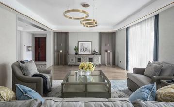 富裕型140平米四室四厅美式风格客厅图片大全