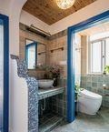 130平米四室两厅地中海风格卫生间效果图