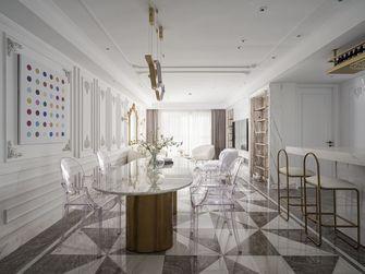 130平米三室一厅新古典风格餐厅装修案例