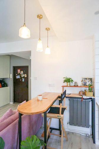 3-5万30平米超小户型现代简约风格餐厅装修案例