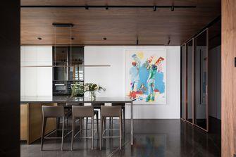 富裕型140平米四室两厅轻奢风格餐厅图片大全
