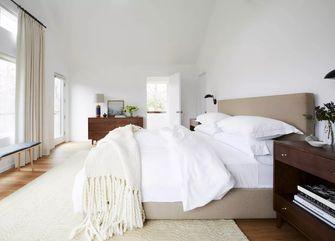 10-15万80平米三室两厅英伦风格卧室效果图