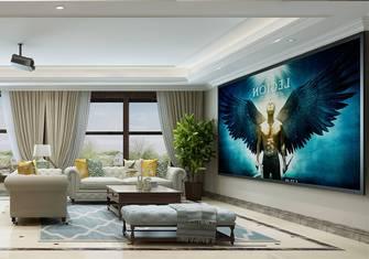 20万以上140平米复式混搭风格影音室装修图片大全