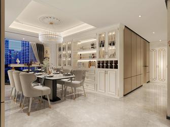豪华型140平米四室两厅法式风格餐厅装修图片大全