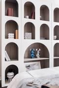 经济型140平米四室三厅现代简约风格卧室图片大全